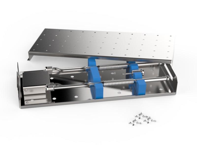 Набор гибридных пинов для фиксации мембран (полный)