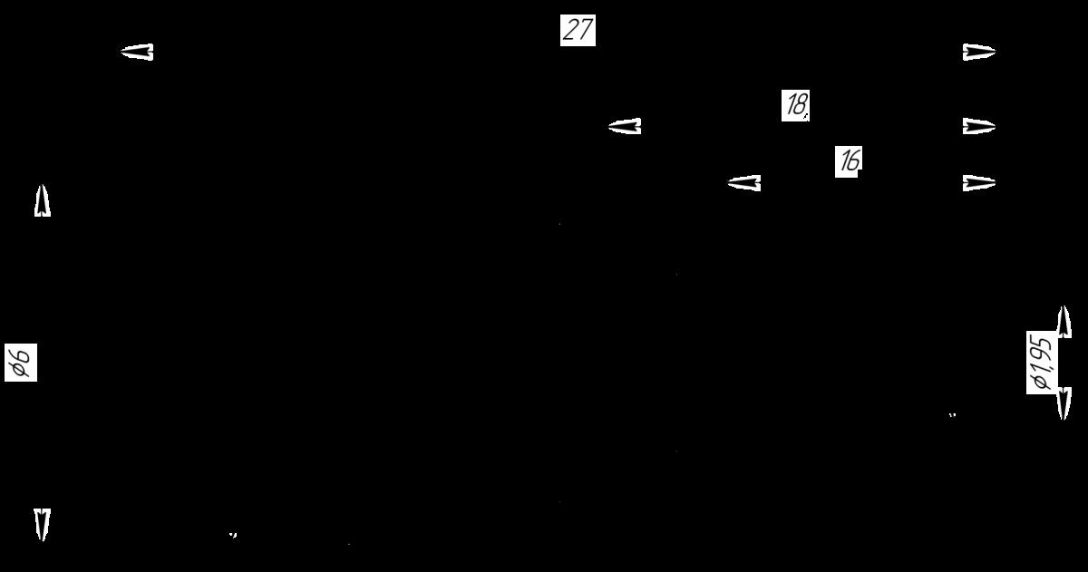Пин для фиксации навигационного шаблона
